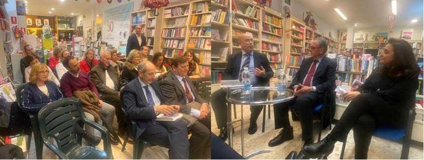 """El Magistrado José Pascual Ortuño presenta su libro """"Justicia sin Jueces"""" en Málaga"""